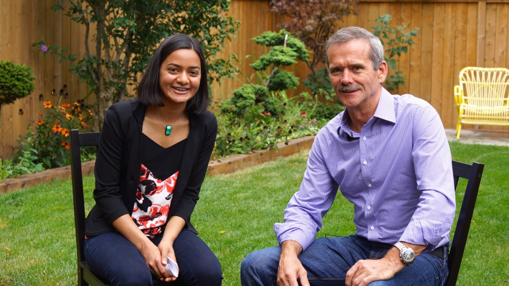 An Interview with Col. Hadfield